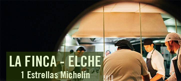 La Finca en Elche 1 estrella michelin