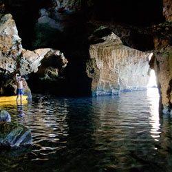 interior de la cova talla