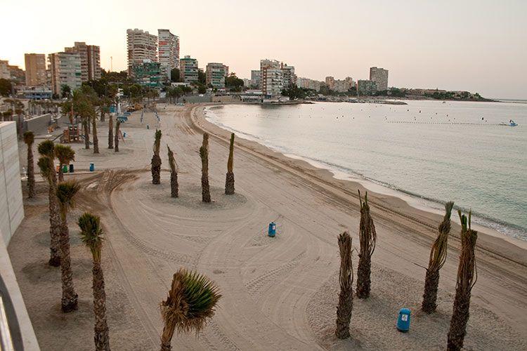 Playa de la Albufereta en Alicante