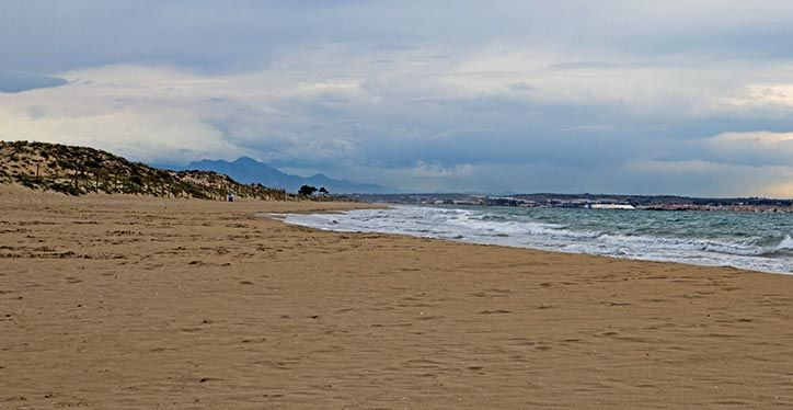 Playas de Elche El Pinet