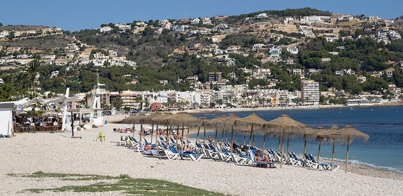playa del benisero javea