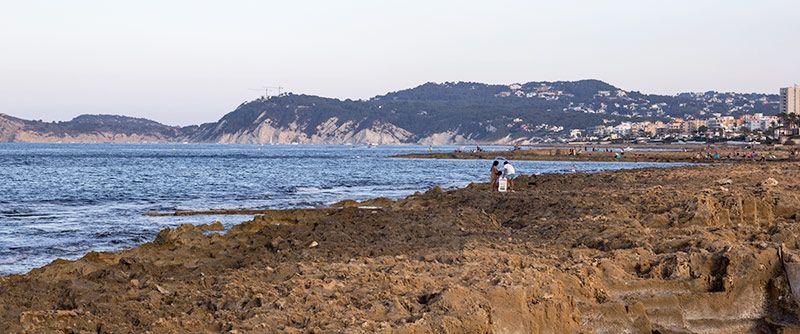 playa del montañar en Javea