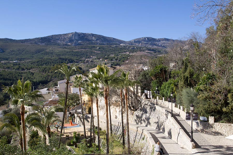 Guadalest poble