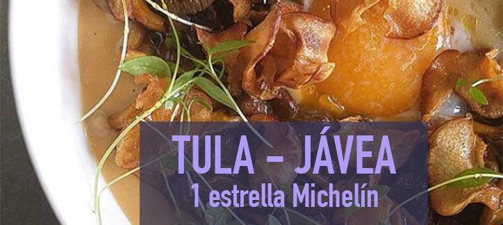 Tula Javea estrella Michelin