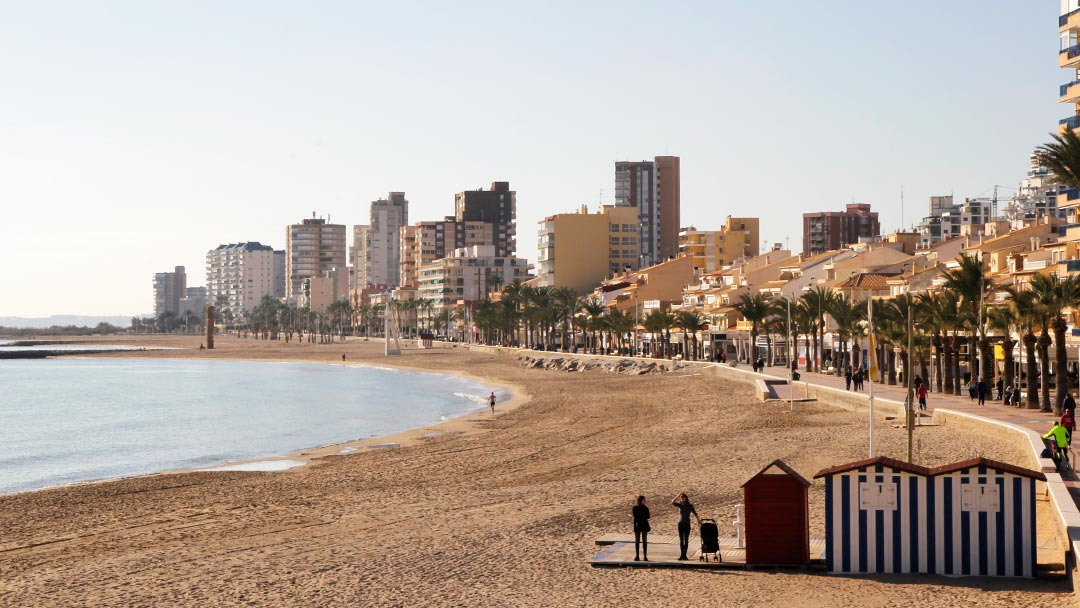 Playa El Campello Carrerlamar
