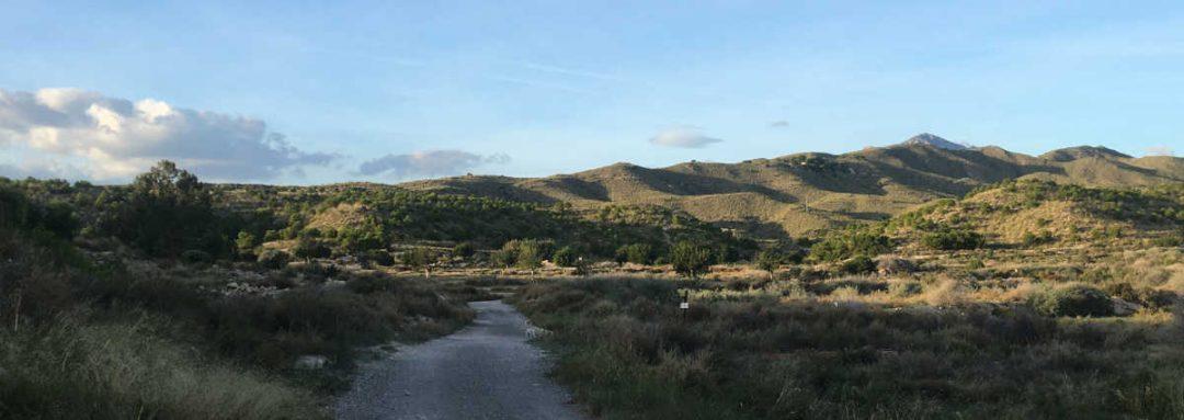 Vista de la ruta de Les Puntes de Gosálvez