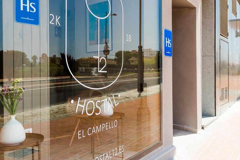 Fachada Hostal 12 Alojamiento El Campello