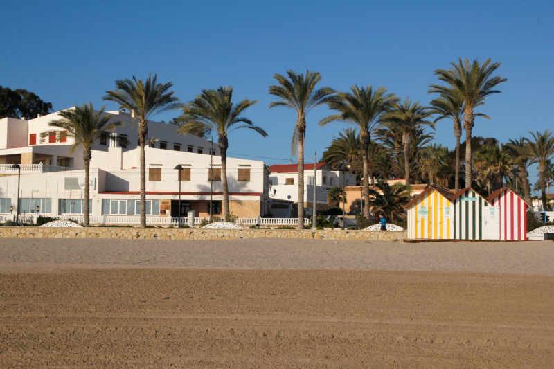 Plano General desde la Playa del Hostal San Juan playa Muchavista