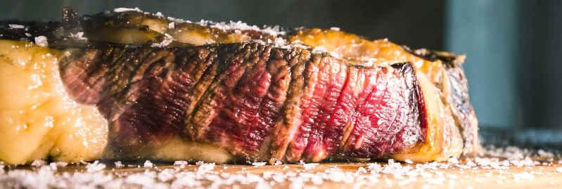 detalle chuleton de La Vaquería, restaurante El Campello