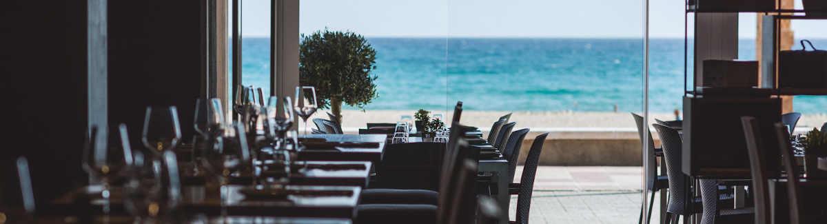 Restaurante frente al amar en El Campello