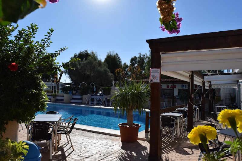 Camping Costa blanca piscina Campello
