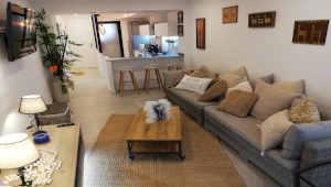 Interior apartamento playa muchavista