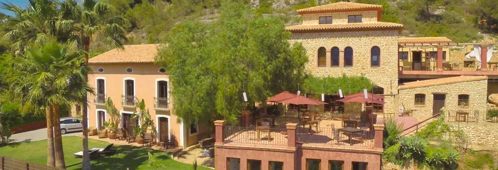 Exterior Finca El Tossal Bolulla