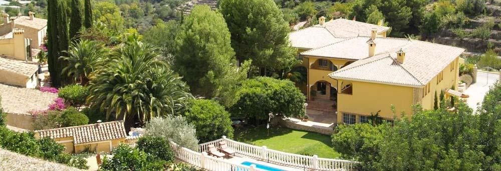 Foto dron hotel Villa Lehmi
