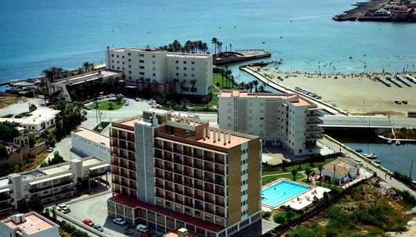 Vista aerea hotel Villa Naranjos