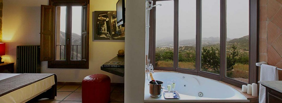 Habitación con vistas hotel alahuar