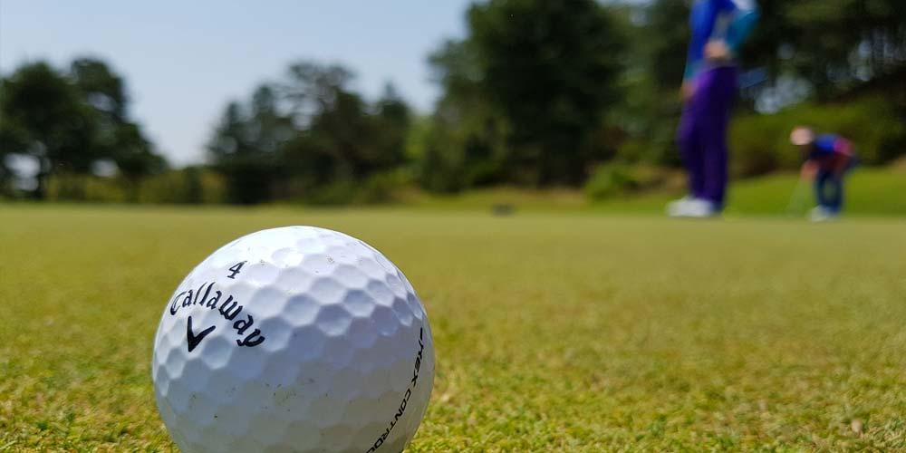 Plano detalle campo de golf alicante