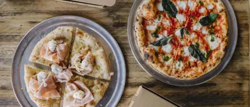 plano cenitla de dos pistas de Ingraganti pizza bar