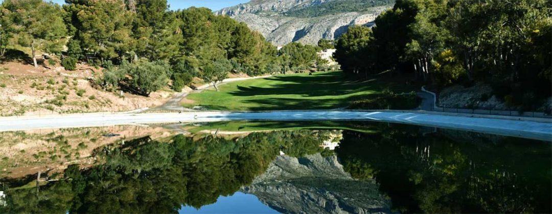 Campo de golf en Altea cerca de Benidorm