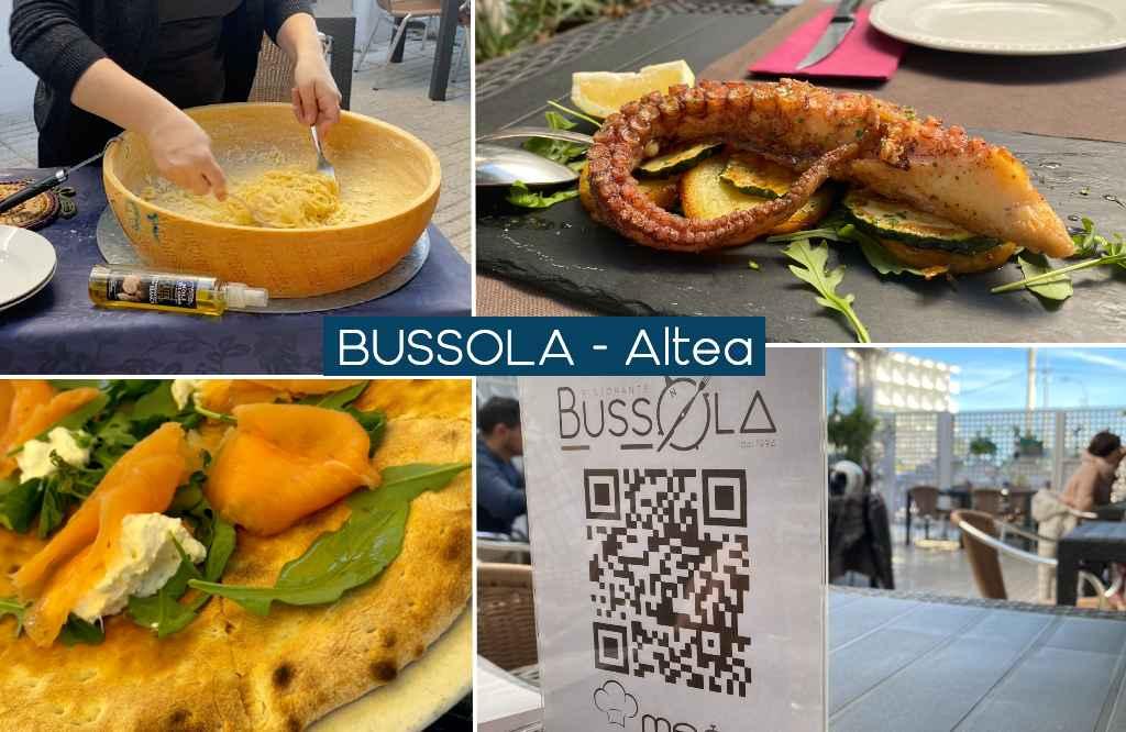 Bussola restaurante italiano en Altea
