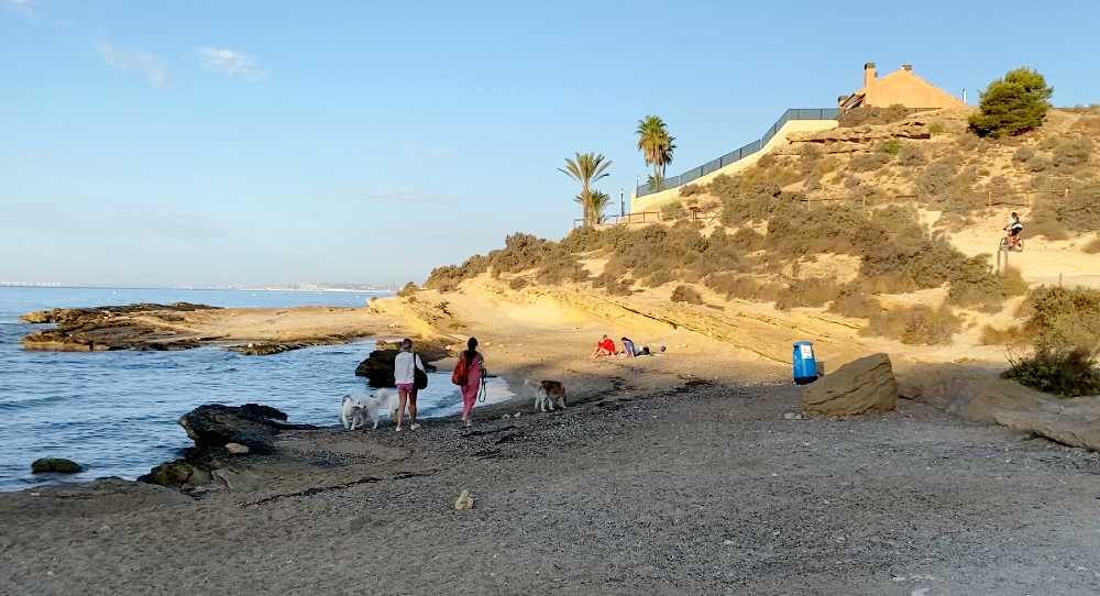 Cala Cantalar ruta Cabo de la Huerta